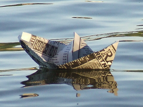 newspapers - (cc) photo by Zarko Drincic on Flickr