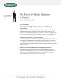 Mobile eBusiness