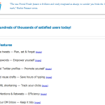 SocialOomph offers essential Twitter tools