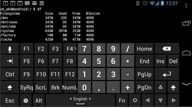 Hackers-Keyboard-Android