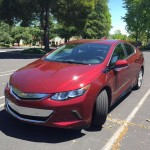 Test driving the 2016 Chevy Volt